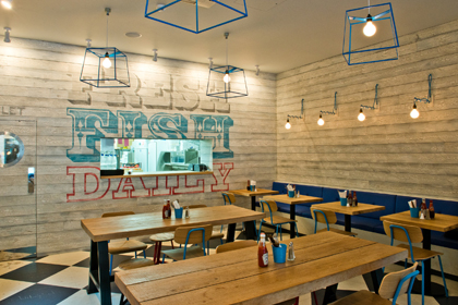Fresh Design For Fish And Chip Restaurant Interiordesignermagazine