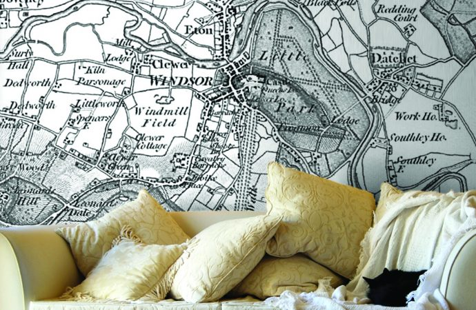 Navigating style on walls with Love Maps On