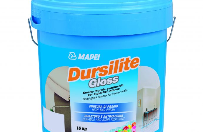 Glossy new Dursilite coat from Mapei
