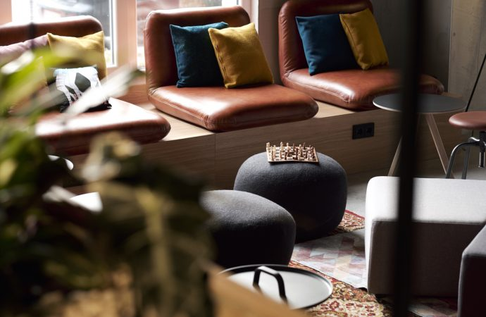 The Moxy Berlin, by JOI Design