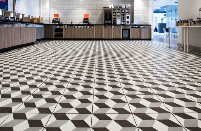 British Ceramic Tile collaborate with Holiday Inn Express