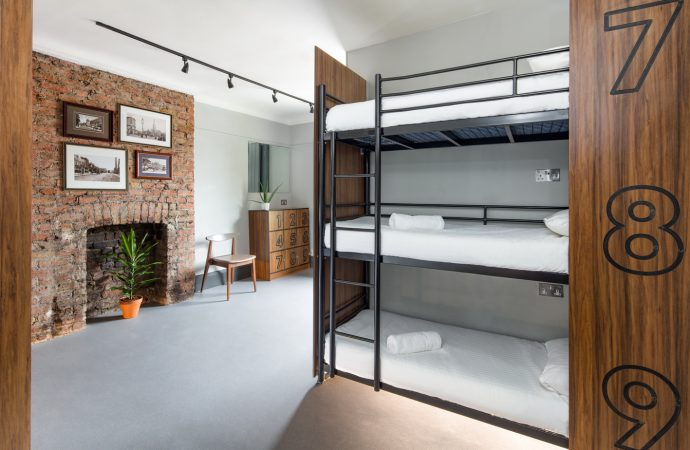 MorenoMasey redefines the traditional hostel concept