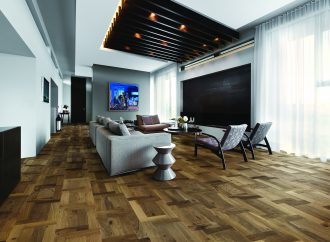 Kährs has the European touch with French Pattern flooring