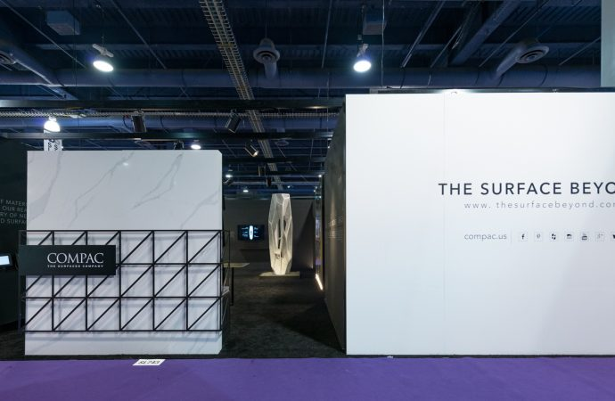 Compac unveiled spectacular sculpture by Arik Levy at KBIS'19