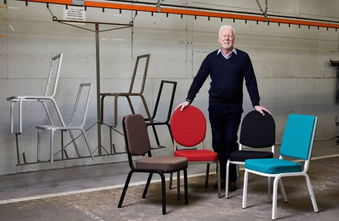 Burgess Furniture launches ergonomic new take on its original chair for 60th Anniversary