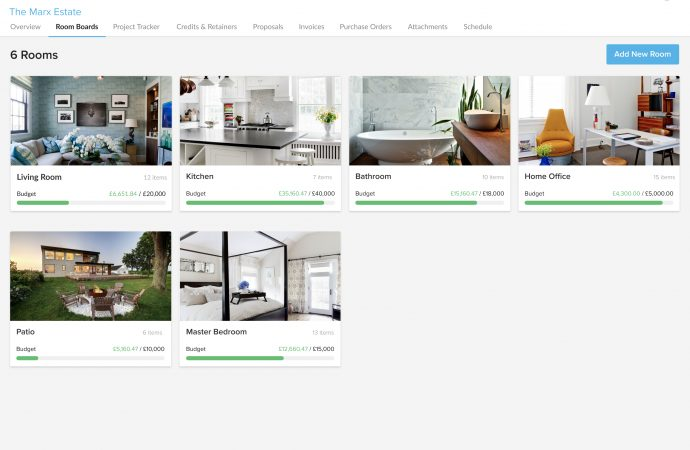 Houzz introduces Ivy UK, a business and project management platform for designers