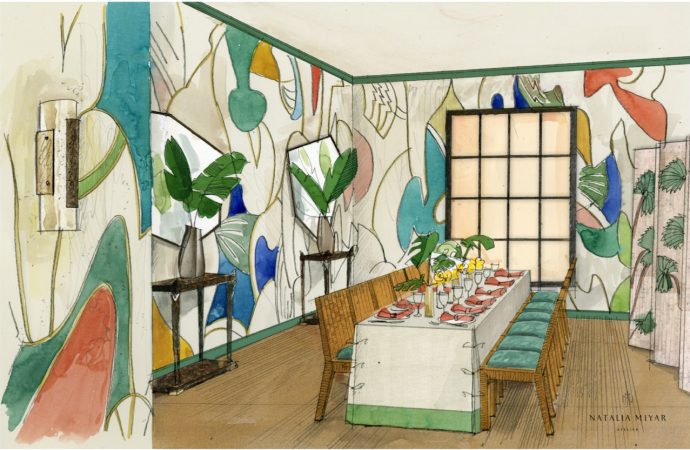 Natalia Miyar appointed to design the Private Dining Room at Masterpiece London