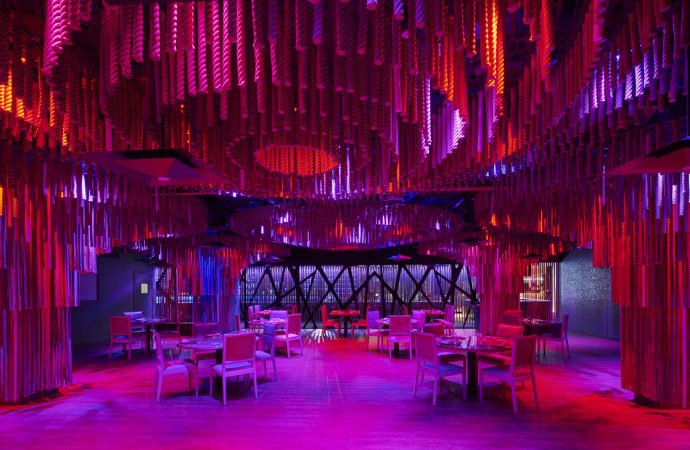 Alex March designs the interior of Oda Restaurant, Casino de Barcelona