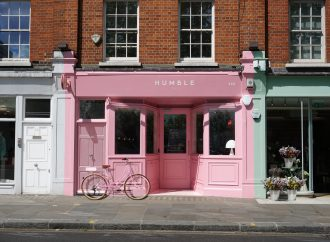 Child Studio reimagines iconic pink Formica cafe for Humble