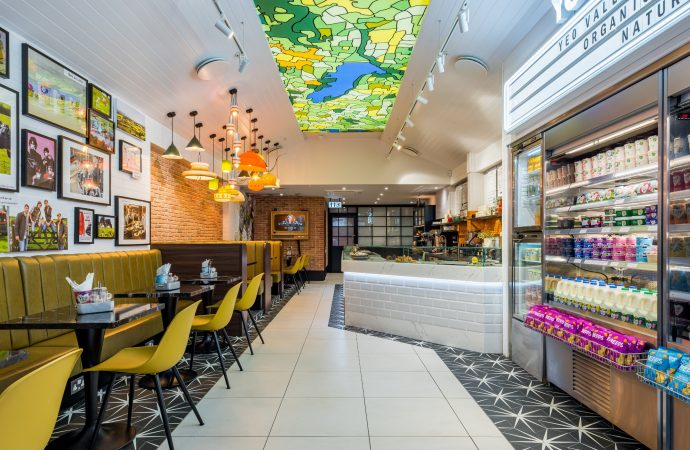 Yeo Valley Café strikes GOLD at London Design Awards