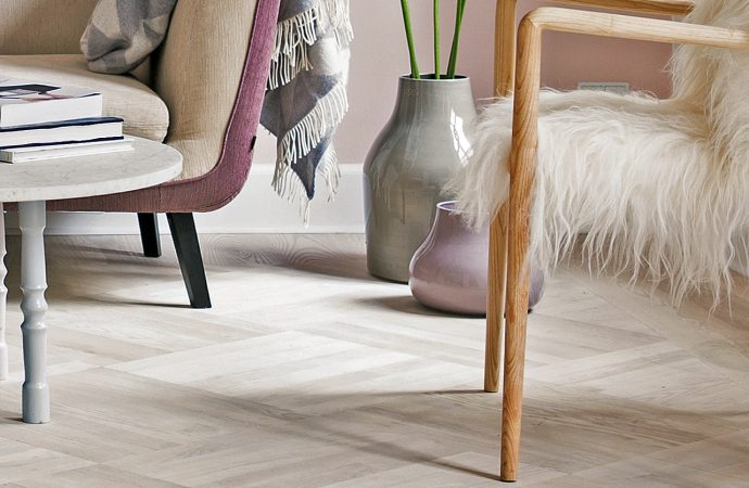 White wooden floors from Junckers