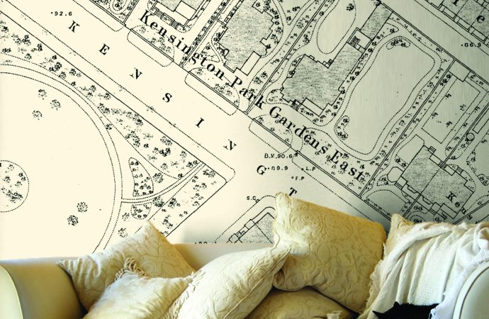 Unique feature walls from Love Maps On!