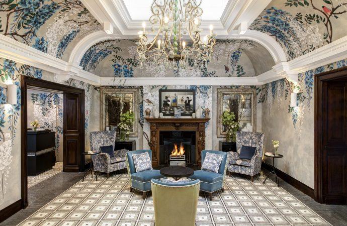 Brown's Hotelcelebrates new lobby design by Olga Polizzi