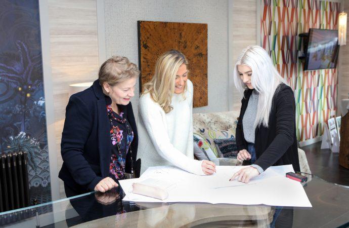 Interior design student develops designs for dementia friendly home