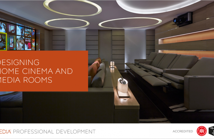 CEDIA Launches New CPD for Design and Build Professionals