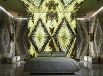 Enchanting natural Irish green marble