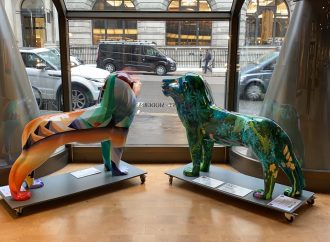 Pissarro Lion sculptures to be auctioned for charity