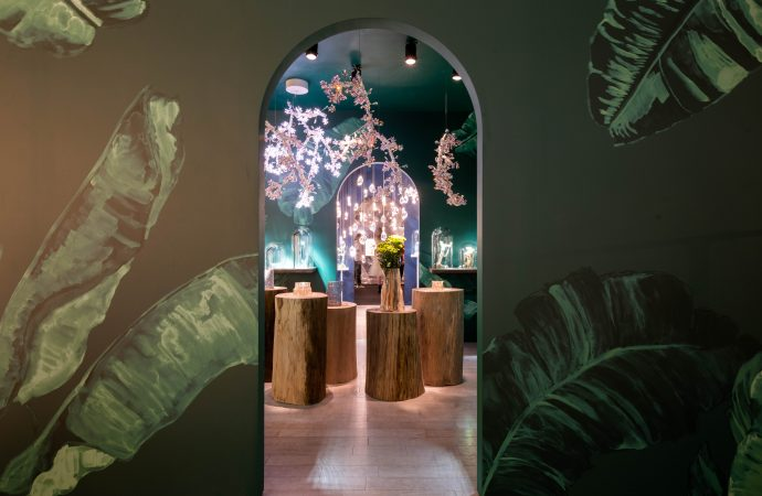 Swarovski celebrates nature at Design Miami/ 2019