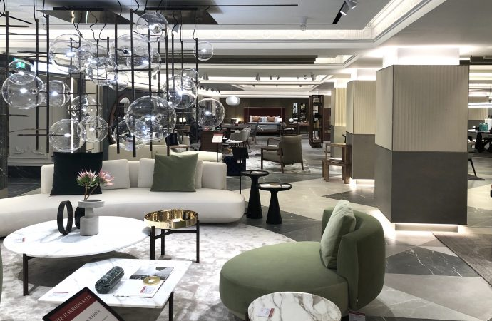 Harrods unveils its new design destination Interiors department