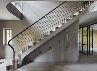 A balustrade with a twist from Bisca