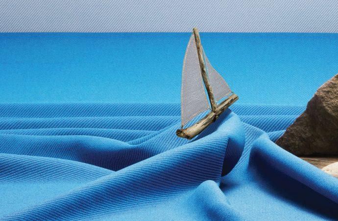 Marine waste weave from Camira Fabrics