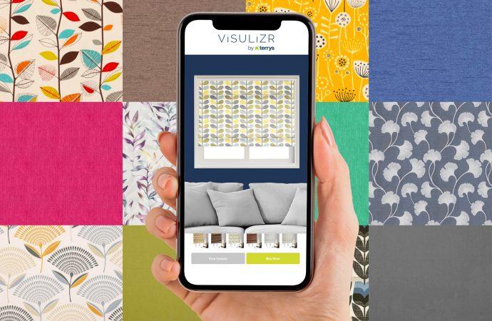 Terrys partner with interior designer Linda Barker to launch the ViSULiZR app