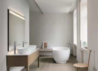 Duravit and Cecilie Manz expand the successful Luv series with the introduction of Almond Satin Matt