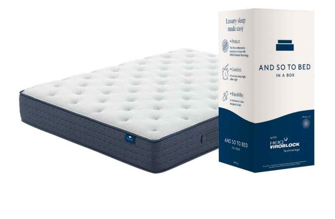 And So To Bed launch brand new anti-microbial mattress