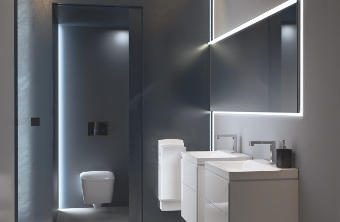 Lifting the lid on hotel washroom design with Geberit